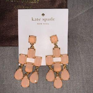 Kate Spade Pink Chandelier Earrings